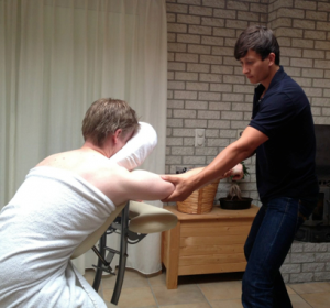 Stoelmassage Massagepraktijk Jansen